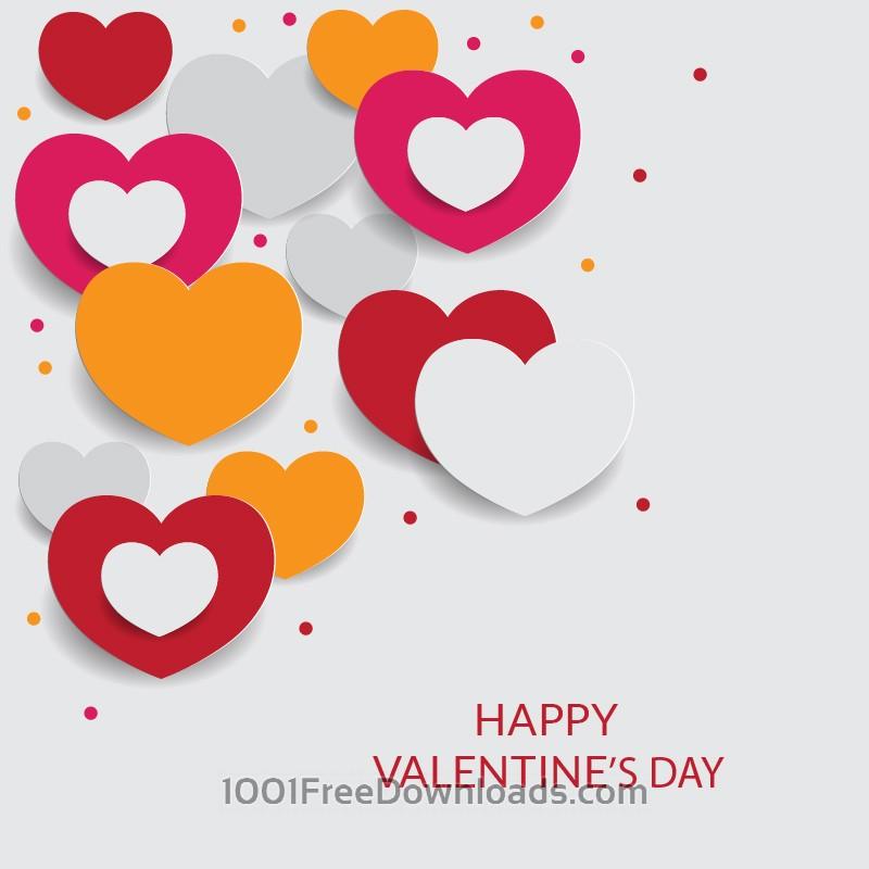 Free Vectors: Happy Valentine
