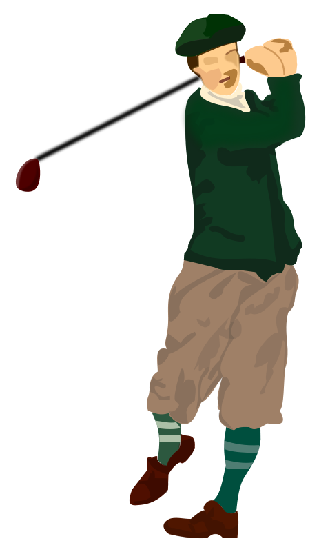 Golfer png