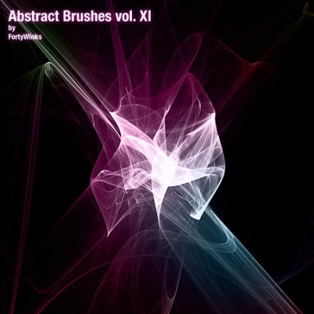 Free Abstract Brush Pack Vol. 11