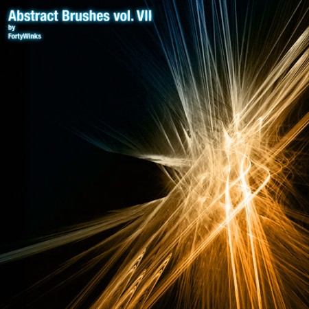 Free Abstract brush pack vol. 7