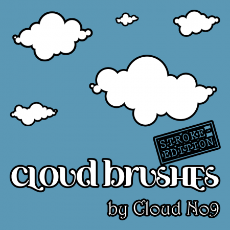 Free Cloud Brushes ver.1