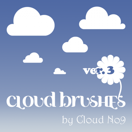 Free Cloud Brushes ver.3