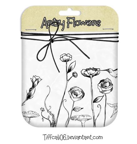 Free Artsy Flowers