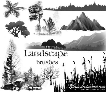 Free Landscape brushes