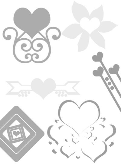Free Valentine Brushes Pack 2