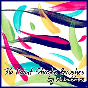 Free Paint Stroke Brushes