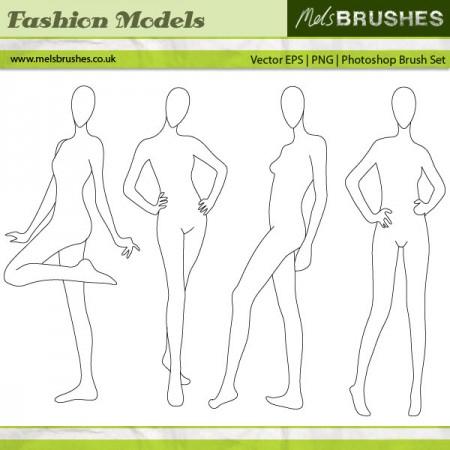 Free Fashion Illustration Models