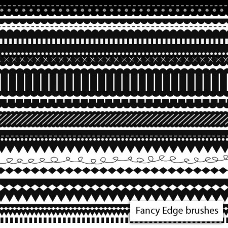 Free Fancy Edge Brushes