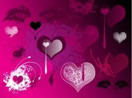 Free Valentines Brushes