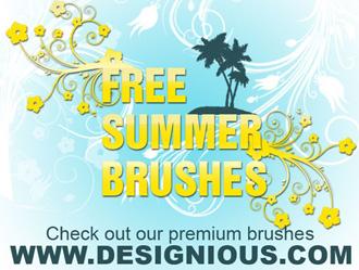 Free Summer Brushes