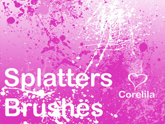 Free Splatter Brushes 1.5