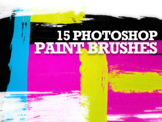 Free 15 Photoshop Paint Brushes
