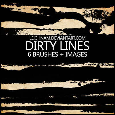 Free Dirty Lines Brushes