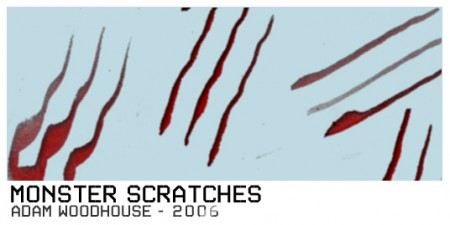 Free Monster Scratches