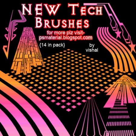Free Tech Brushes