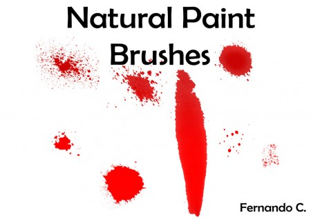 Free Natural Paint Brushes