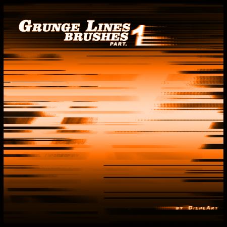 Free Grunge Lines Part 1