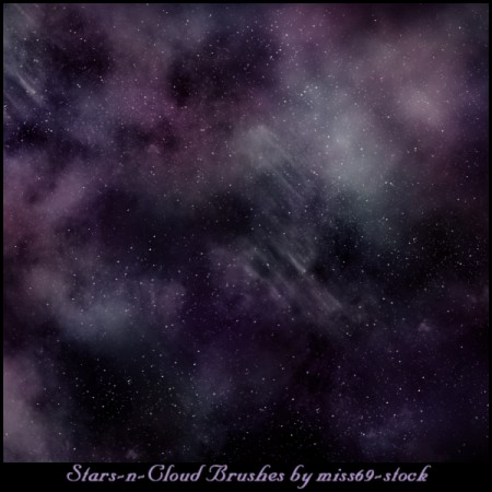 Free Stars-n-Cloud Brushes