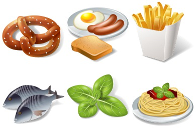 Iconset: 3D Food Icons by Icons-Land