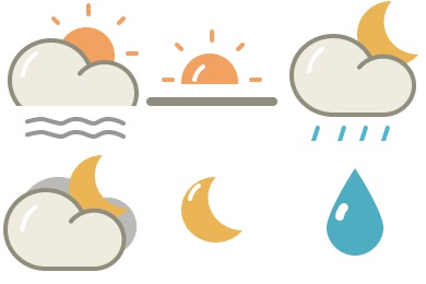 Free Iconset: Lovely Weather 2 Icons by Custom Icon Design