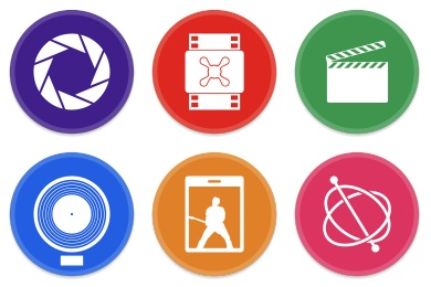 Free Iconset: Button UI Apple Pro Apps Icons by BlackVariant