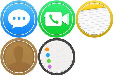 Free Iconset: Bubble Circle Pack #2 Icons by scafer31000