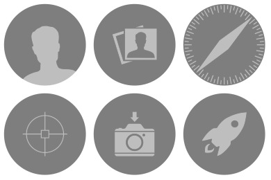 Free Iconset: Dynamic Yosemite Icons by ccard3dev
