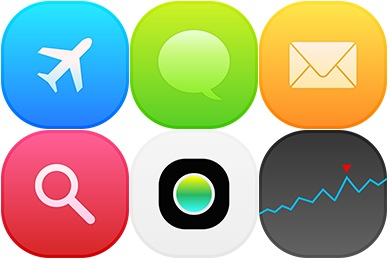 Iconset: iOS8 Settings Icons by uiconstock