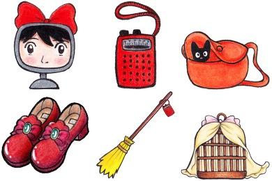 Free Iconset: Kiki's Delivery Service Icons by Kirei-Kaze