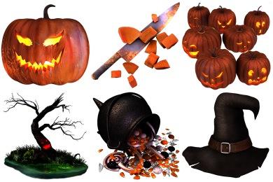 Iconset: Sweet Halloween Icons by Thomas Veyrat