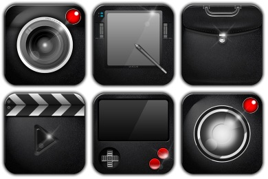 Free Iconset: Leather Icons by MartynaMru