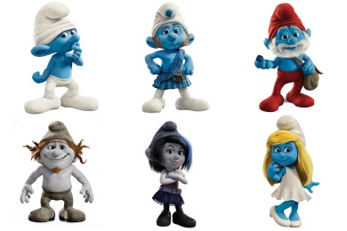 Free Iconset: The Smurfs 2 Movie Icons by DesignBolts