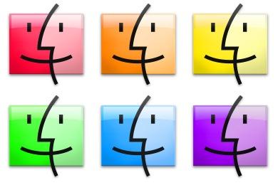 Iconset: Finder Icons by igabapple
