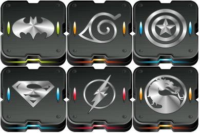 Free Iconset: Skrynium Black Icons by Kalangozilla