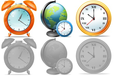 Free Iconset: Large Time Icons by Aha-Soft