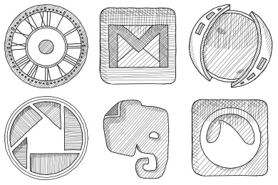 Free Iconset: Sketchy Icons by AzureSol