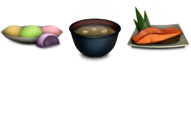 Iconset: Japanese Food Icons by sukritact
