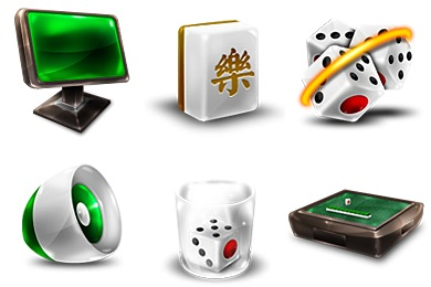 Free Iconset: Mahjong Icons by Jommans