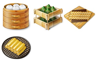 Iconset: Chinese Traditional Food Icons by jordanfc