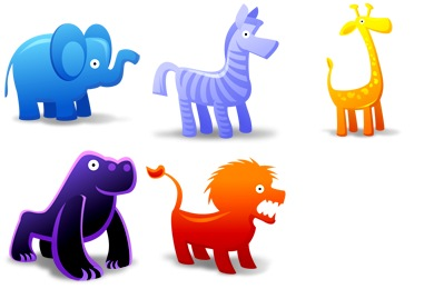 Free Iconset: Animal Toys Icons by Fast Icon Design