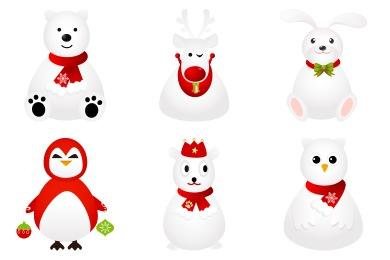 Free Iconset: White Animals Icons by DaPino