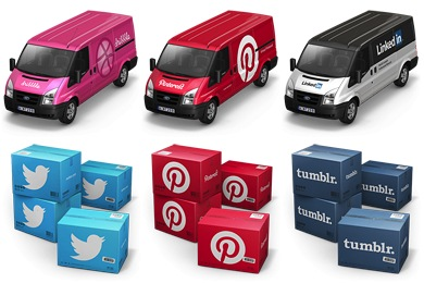 Free Icons: Iconset: Container 4 / Cargo Vans Icons by Antrepo | Transport