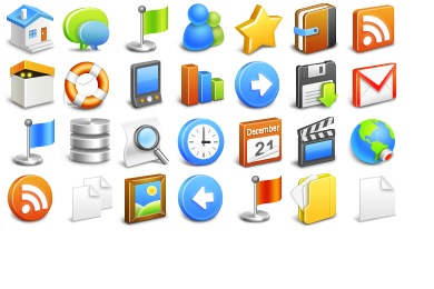 Free Iconset: Once Icons by Delacro