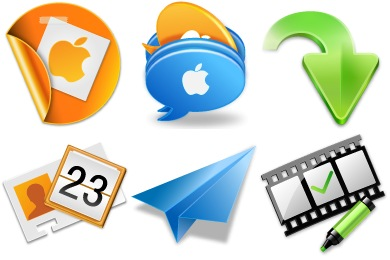 Free Iconset: Mac Office Icons by YingFengLing