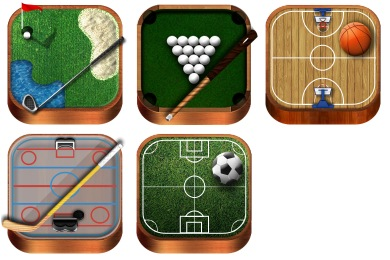 Free Iconset: Wooden Sports Icons by Uriy1966