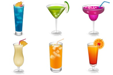 Iconset: Drinks Icons by miniartx