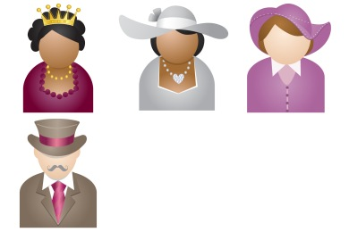 Free Iconset: People With Hat Icons by DaPino