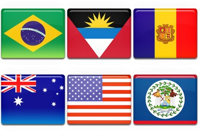 Free Iconset: All Country Flag Icons by Custom Icon Design