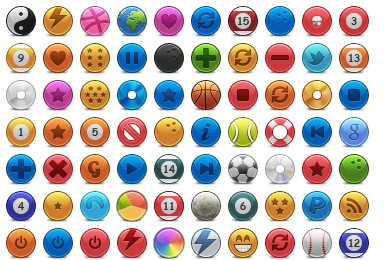 Iconset: Rounded Icons by JackieTran
