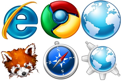 Free Iconset: Browsers Icons by Tatice